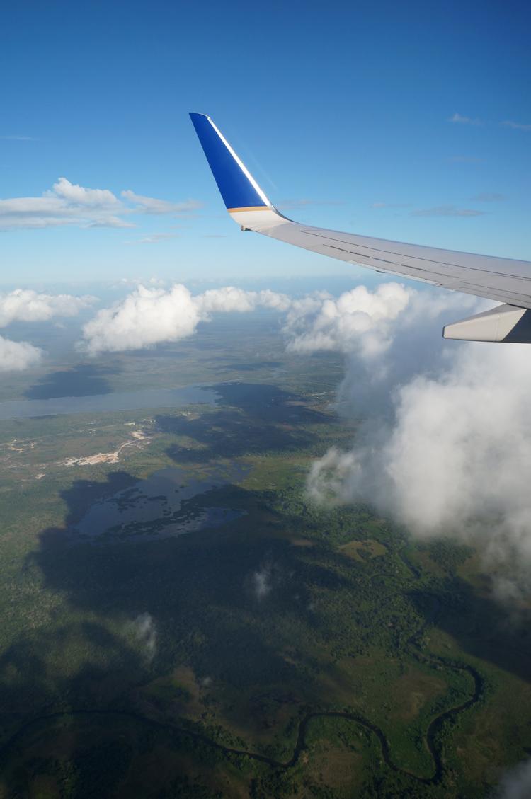 Premier magnifique regard sur Belize!