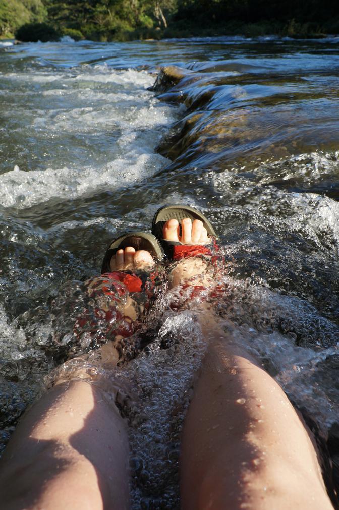 Petit pieds dans l'eau